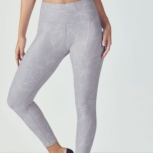 Fabletics high waisted printed powerhold leggings